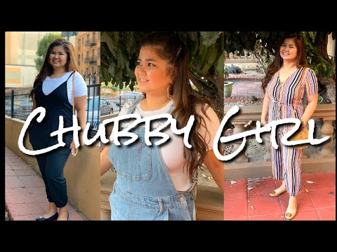 Chubby Girls Outfit Ideas| How To Wear Jumpsuits & Overalls | Chamie Chumz