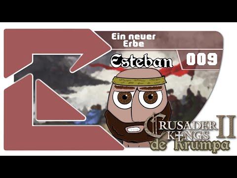 Let's Play Crusader Kings 2 - de Krumpa #9 Ein neuer Erbe [Deutsch/Roleplay/Esteban]