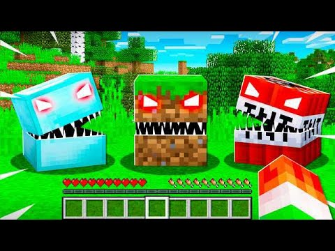 WHEN MINECRAFT BLOCKS COME TO LIFE! thumbnail