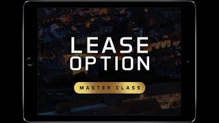 The POWER of Lease options and tenant buyers with David France