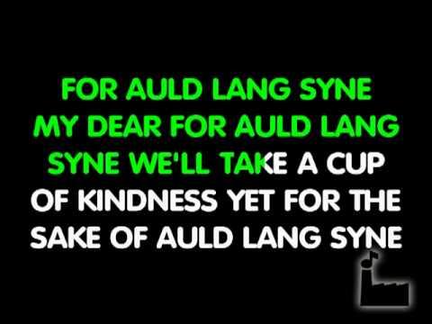 Auld Lang Syne   Traditional   Karaoke
