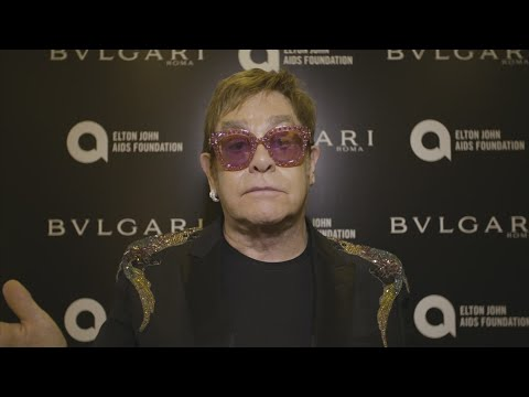 Elton John celebrates 25 years of AIDS foundation