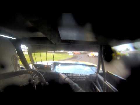 Nielsen Racing incar T8 Algona Raceway 8-16-14