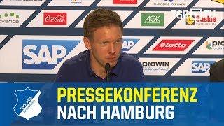 Spieltags-Pressekonferenz nach Hamburg - 30. Spieltag / 2017-18