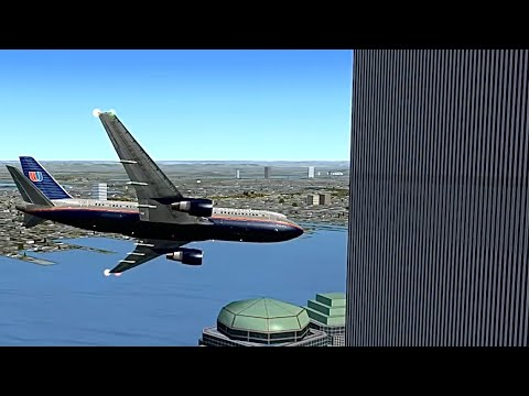 United Airlines Flight 175 September 11 2001 Simulation With ATC Recording