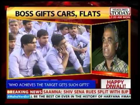 gives away cars & flats as Diwali gifts
