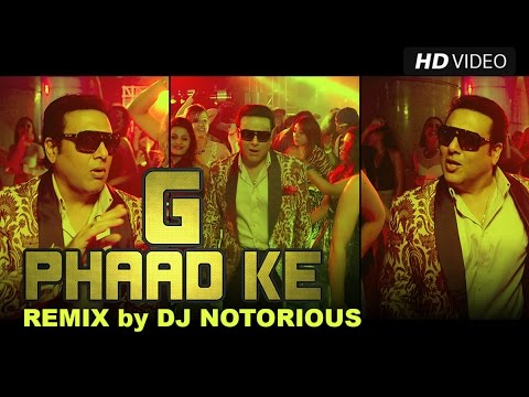 G Phaad Ke (Official Remix by DJ Notorious) Happy Ending | Saif Ali Khan, Ileana D'cruz & Govinda