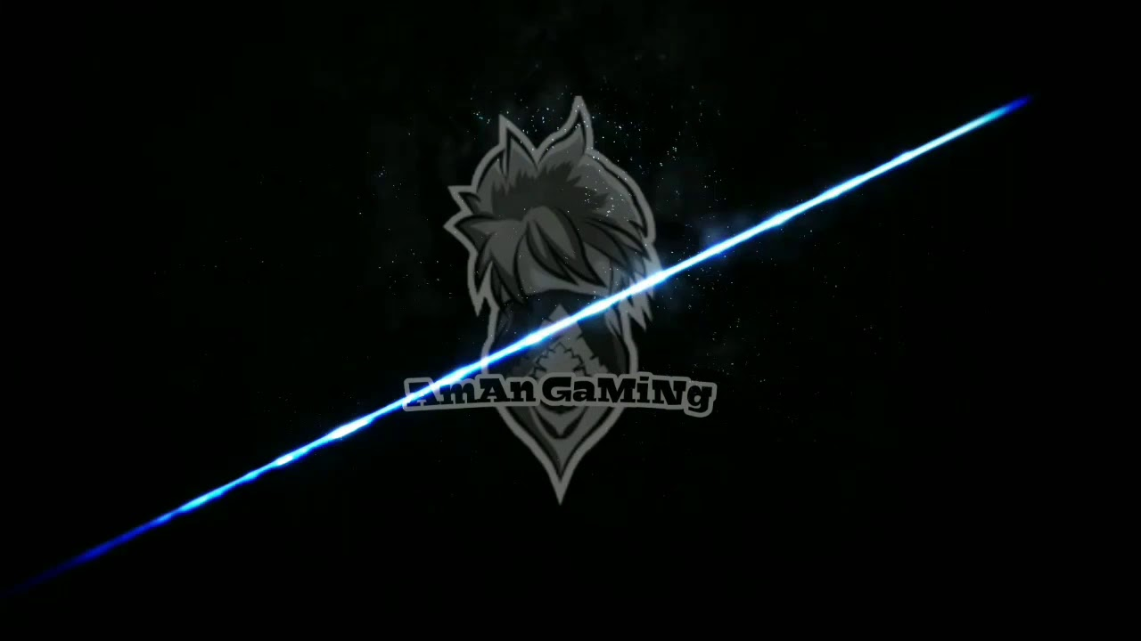 Official Intro Of Our Youtube Channel Aman Gaming Garena Free Fire Youtube