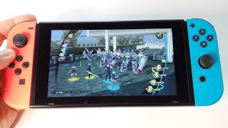 The Legend of Heroes: Trails of Cold Steel 3   Nintendo Switch handheld gameplay