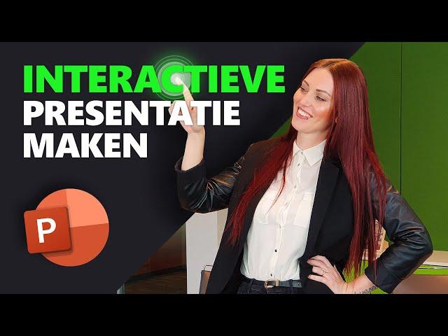 PowerPoint interactief maken | PowerPoint basics | PPT Solutions