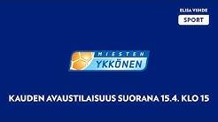 Miesten Ykkösen kauden 2019 avaustilaisuus
