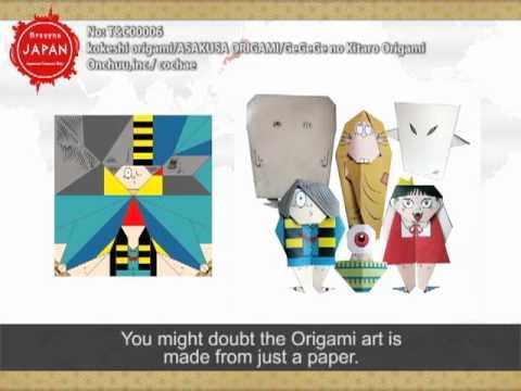 Casually experience Japan! Modern art Origami!
