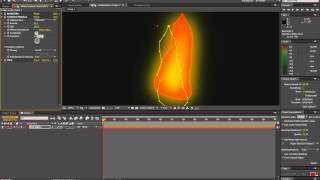 как сделать огонь в adobe after effects