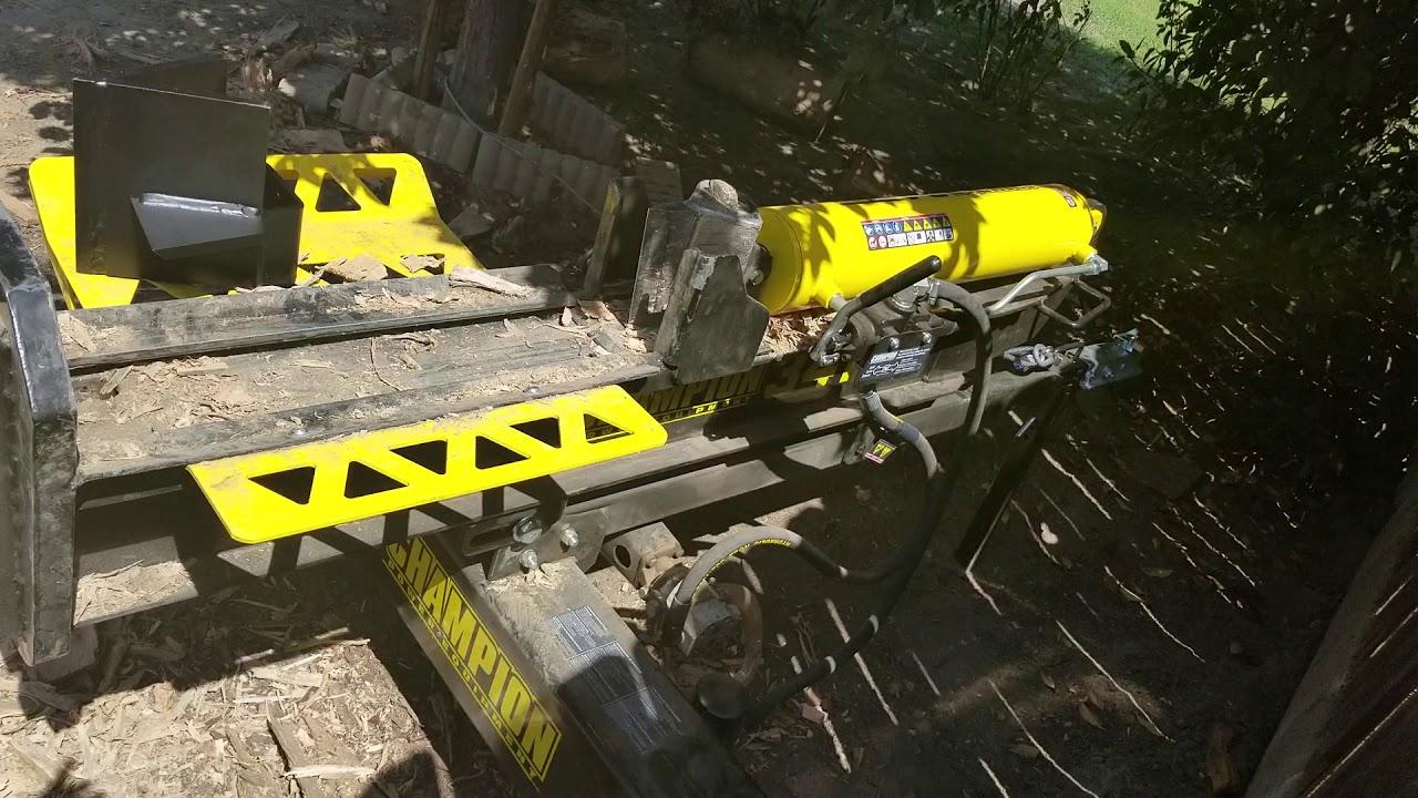 34 ton champion log splitter