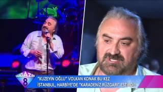 Kuzeyin Oğlu Volkan Konak Bu Kez İstanbul'da Rüzgar Gibi Esti