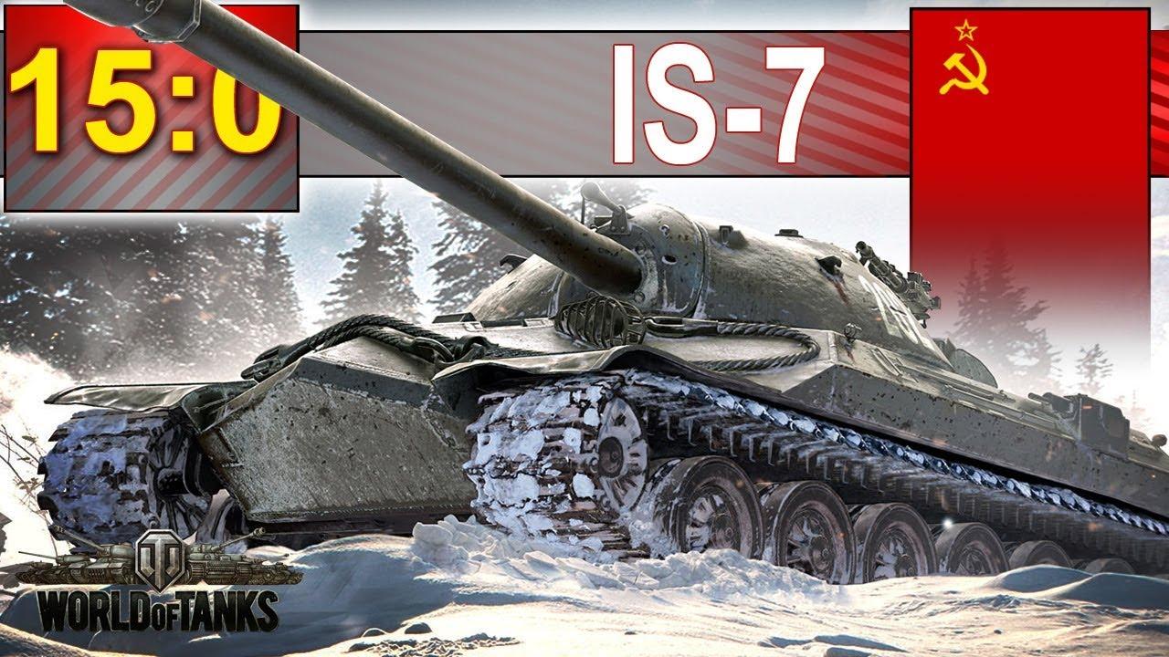 15:0 – coraz więcej takich bitew? – World of Tanks