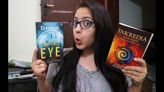 Reading Fantasy  & Thriller Books by Indian Authors   Reading Vlog Ep16