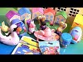 Nickelodeon Peppa Pig Weebles Toys Surprises Playdoh Stamp Secret House