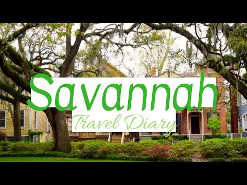 SAVANNAH, GEORGIA TRAVEL DIARY!