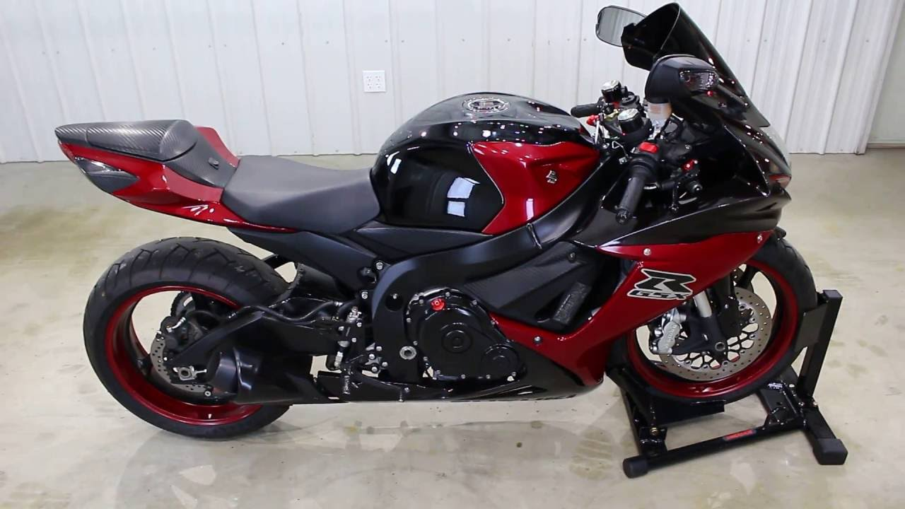 2012 Suzuki GSXR 600 description - YouTube