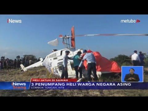 Helikopter Jatuh di Dekat Bandara Lombok, KNKT akan Lakukan Investigasi - iNews Siang 15/07