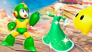 Super Smash Bros. Ultimate: Mega Man Brasileiro, Rosalina, Pokemon Incineroar e Bayonetta