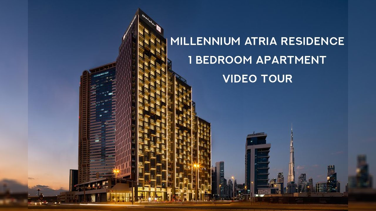 1 Bedroom Apartment Millennium Atria Residence Business Bay Luxury Hotel Apartment For Sale In Dubai Youtube