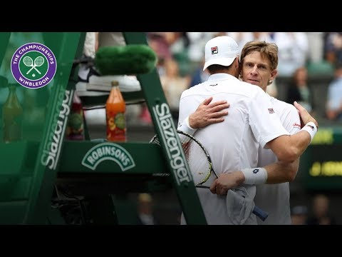 John Isner vs Kevin Anderson SF Highlights | Wimbledon 2018