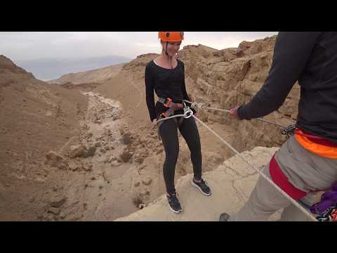 Visiting the Dead Sea- Canyoning
