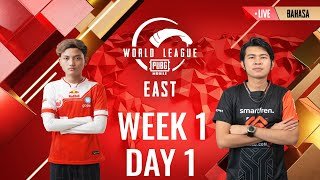 [BAHASA] W1D1 - PMWL EAST - League Play | PUBG MOBILE World League Season Zero (2020)