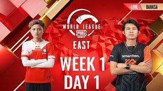 [BAHASA] W1D1 - PMWL EAST - League Play | PUBG MOBILE World League Season Zero (2020)