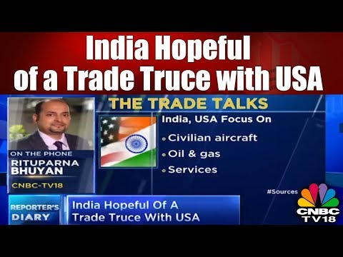 Trump's Trade War | India Hopeful of a Trade Truce with USA | CNBC TV18