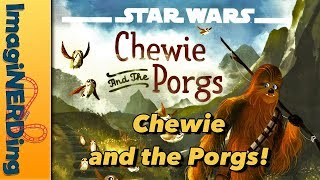 Chewie and the Porgs Storytime and Book Review!