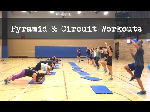 bootcamp workouts pyramid circle circuit youtube. Black Bedroom Furniture Sets. Home Design Ideas