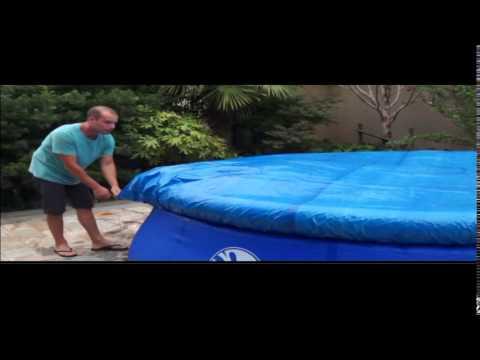 Easy set pool aufbauanleitung doovi for Bestway pool bauhaus