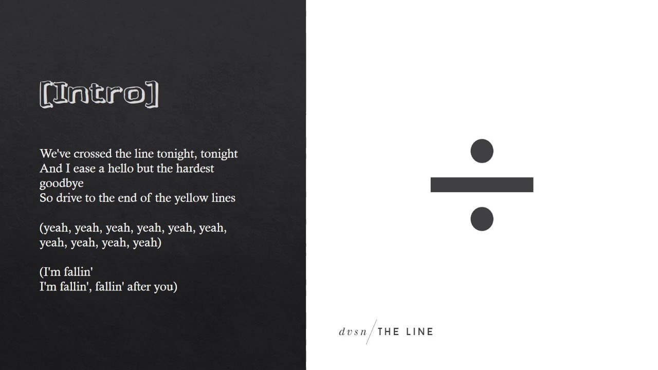 Single But Not Available Quotes: The Line (Lyrics)