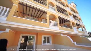Новая 3-х комнатная квартира в Испании на побережье Коста Бланка недорого, 2 спальни и салон(, 2013-11-09T09:26:23.000Z)