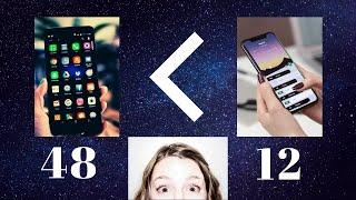 مين احسن كاميرا 48 ميجا بيكسل ولا 12؟ Megapixel explained