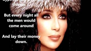 Gypsies, Tramps and Thieves  CHER   (with lyrics)