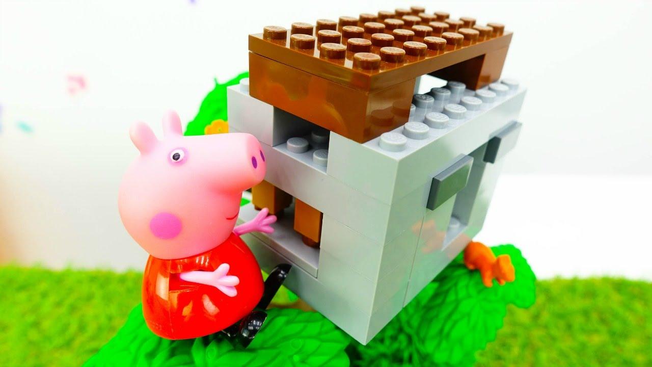 Игра Свинка Пеппа: Новый Дом - Онлайн