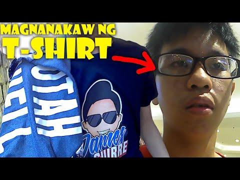 VLOGS #11 - mga idols na nagnakaw ng T-shirt ko (meet up merch)