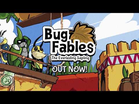 [PC] Bug Fables: The Everlasting Sapling is OUT NOW!