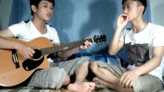 Dù Có Cách Xa chế HUY-PHƯƠNG ( guitar vs beatbox )