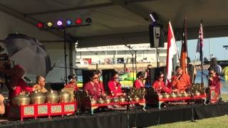 Gamelan at Pesona Indonesia 2015 in Darwin