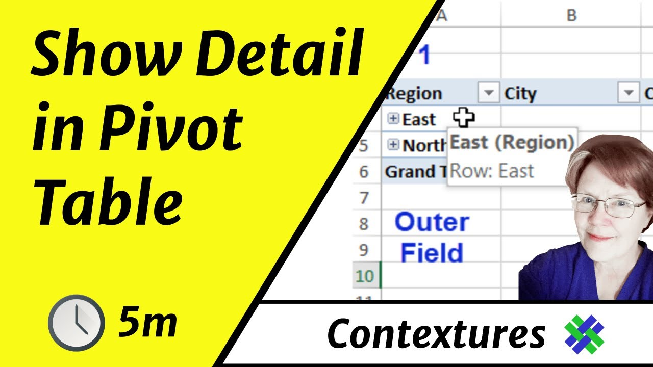 How to Expand and Collapse Pivot Table Fields