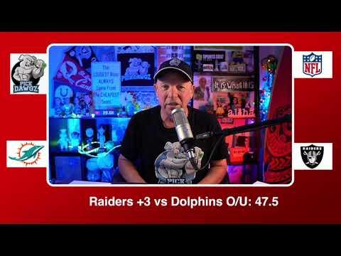 Las Vegas Raiders vs Miami Dolphins 12/26/20 NFL Pick and Prediction Saturday Week 16 NFL