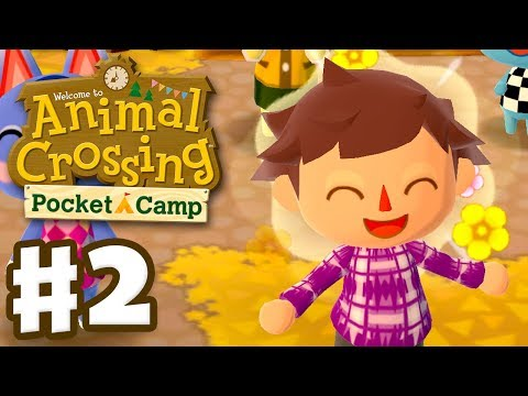 Animal Crossing: Pocket Camp - Gameplay Part 2 - Everyone's Invited! (iOS, Android)