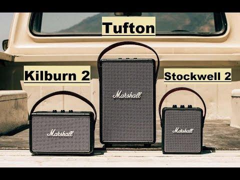 loa marshall - Giới thiệu loa Marshall Tufton và hướng dẫn chỉnh bass, treble trực tiếp trên loa