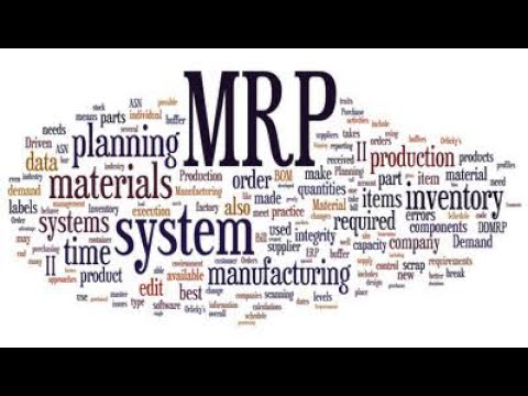MRP/MRP -II /CRP, INDUSTRIAL MANAGEMENT