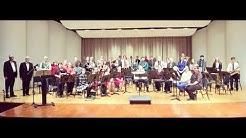 The Clarke County Community Band Performs Birdland